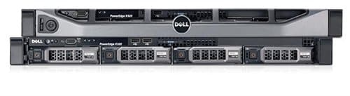 Dell Power Edge R420 E5-2407V2 2.4GHZ H310 4HD cage, DVDRW - Dell