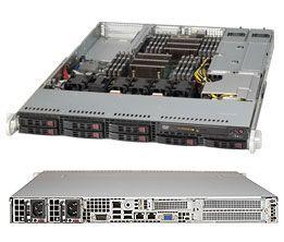 Supermicro Enterprise Database 1U Redundant Server 128GB with 10G - SUPER MICRO