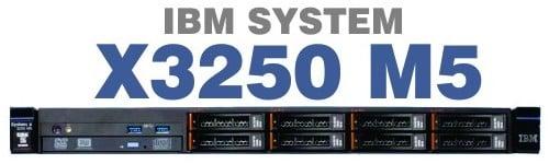 שרת IBM X3250 M5 E3-1200v3 4GB 2TB