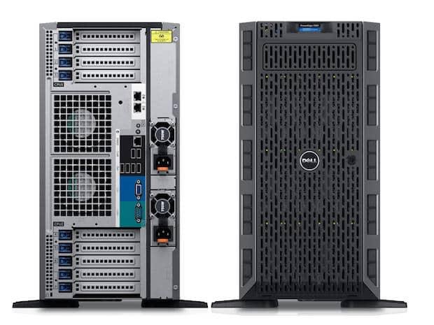 שרת Power Edge T630 Intel Xeon E5-2620 v3  32gb ddr 3  480gb ssd  8tb - Dell