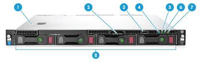 שרת HP ProLiant DL160 G9 E5-2609 v3 Up To 8 HDD K8J94A - HP