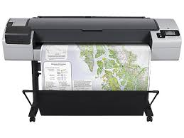 מדפסת פורמט רחב HP Designjet T795 44 inch ePrinter CR649C - HP