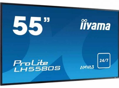 "IIYAMA Monitor 55"" Large Format Display 24/7 Operation OPS/BNC/S-video - IIYAMA"