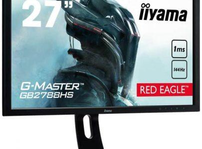 "IIYAMA Monitor GB2788HS 27"" G-Master Red Eagle 1ms 144Hz DVI HDMI DP Speakers - IIYAMA"