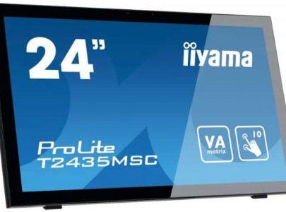 """IIYAMA Monitor 23.6"""" VA PCap Touch Panel 6ms DVI HDMI DP Speakers - IIYAMA"""