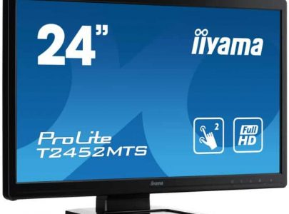 "IIYAMA Monitor 23.6"" Optical Multi Touch 2ms VGA DVI HDMI Speakers - IIYAMA"