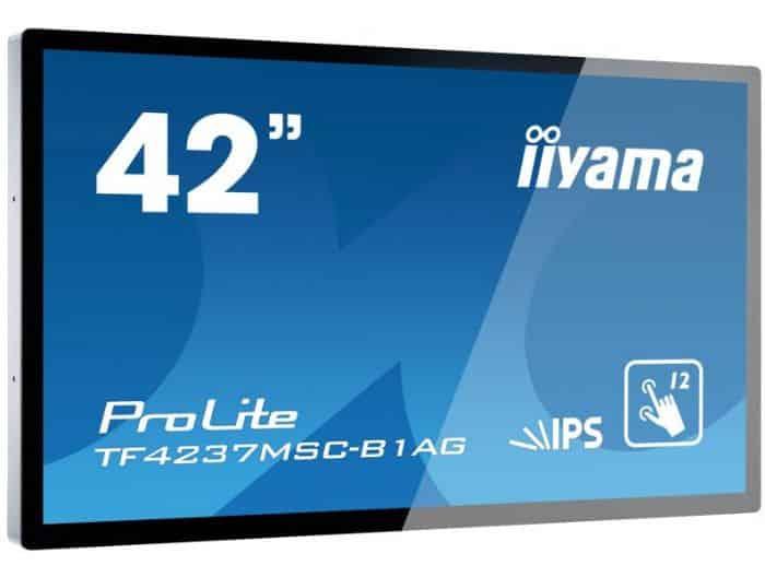 """מסך מגע IIYAMA Monitor 42"""" Open Frame Touch 6ms VGA DVI HDMI"""