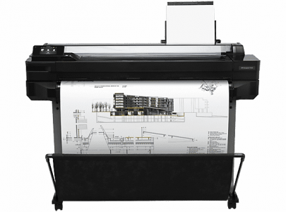 מדפסת הזרקת דיו HP Designjet T520 36-in ePrinter‏ (CQ893A) - HP