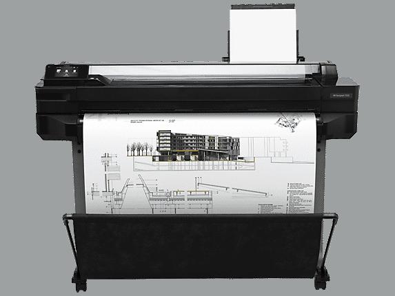 מדפסת הזרקת דיו HP Designjet T520 36-in ePrinter (CQ893A) - HP
