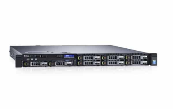 שרת DELL R330 E3-1220V5 3.0GHZ 8M, 4C/4T, H330 DVDRW 2 x 350w