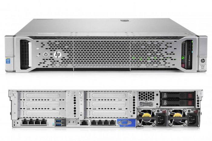 שרת עוצמתי עם 2 מעבדים   HP 480GB    - HP 4TB  x12- DL380G9  x2  E5-2670v3 2.3GHz - HP