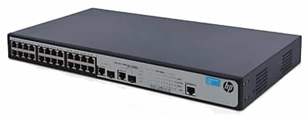רכזת רשת/ממתג HP 1910-24-PoE+ JG539A - HP