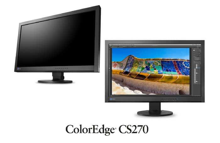 "Eizo CS270-BK-PHX ColorEdge 27"" Widescreen LED Backlit IPS LCD Monitor - EIZO"