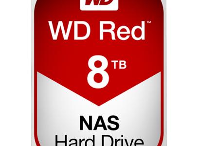 כונן קשיח פנימי Western Digital Red 8TB WD80EFZX
