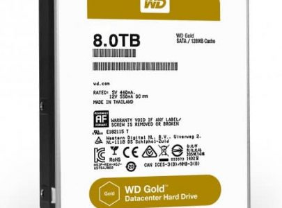 כונן קשיח Western Digital Gold 8TB 128MB Sata III WD8002FRYZ