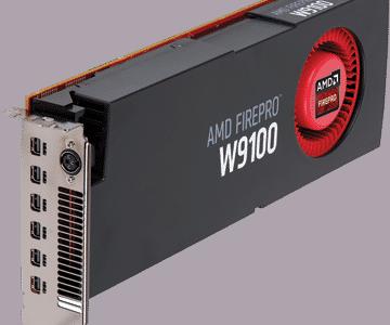 AMD FirePro W9100 16GB GDDR5 6-mDP PCIe 3.0