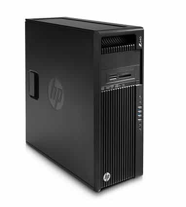 HP Z440 Workstation E5-1620/16GB/256 SSD+1TB/K2200/WIN 10 DG7/3YW - HP