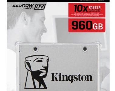 דיסק קשיח פנימי KINGSTON SSD SUV400S37/960G