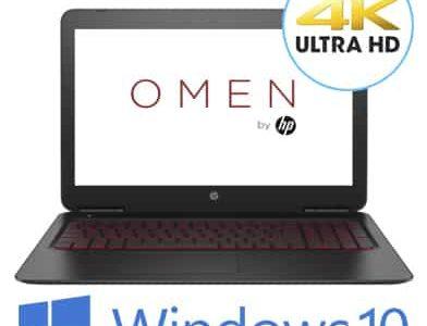 מחשב נייד - HP Pavilion Omen 15-AX201NJ - צבע שחור - HP