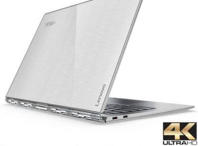 מחשב נייד עם מסך מגע Lenovo Yoga 910-13 80VG001QIV - צבע כסוף זכוכית - LENOVO