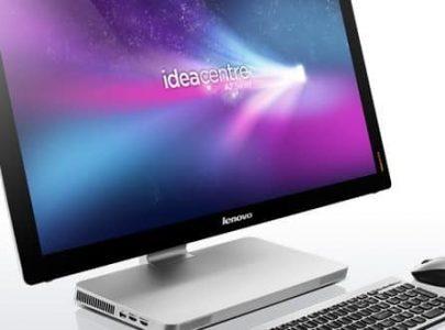 מחשב All-in-One ללא מסך מגע Lenovo IdeaCentre 720-24 F0CM002UIV - צבע שחור - LENOVO
