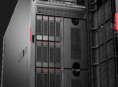 ThinkServer TD350 Tower Server 64GB RAM 300GB SAS X3 - LENOVO